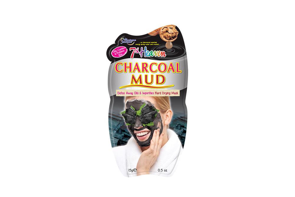 7th Heaven Mascarilla Facial Barro De Carbón Sachet Con 1 Unidad De 10 mL