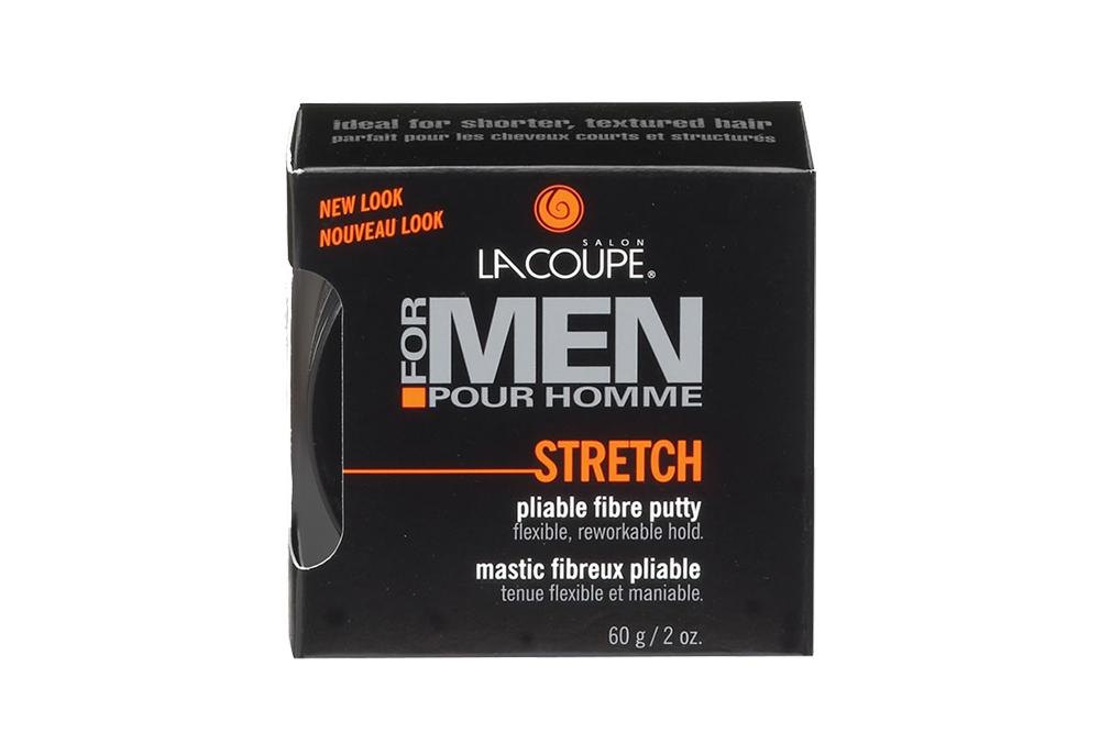 LaCoupe For Men Cera Moldeadora De Peinar Stretch Frasco Con 60 g