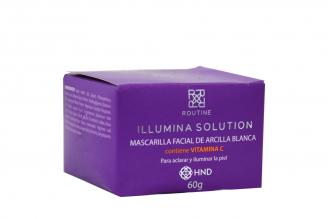 Mascarilla Facial De Arcilla Blanca Frasco Con 60 g