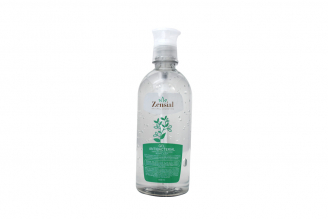 Gel Antibacterial Con Áloe Vera Zensial Frasco Con 500 mL