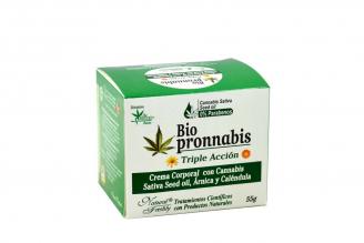 Crema Corporal Bio Pronnabis Caja Con Pote Con 55 g