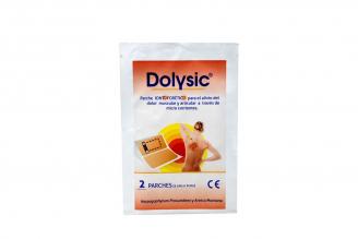 Dolysic - Parche Iontoforetico Para El Alivio Del Dolor Muscular Y Articular Empaque Con 2 Unidades