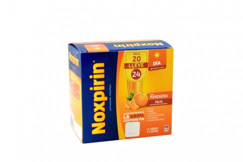 Noxpirin Dia Caja 24 Sobres Pague 20 Lleve 24