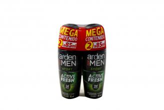 Desodorante Arden For Men Sport 24 Horas Empaque Con 2 Frascos Con 85 mL C/U