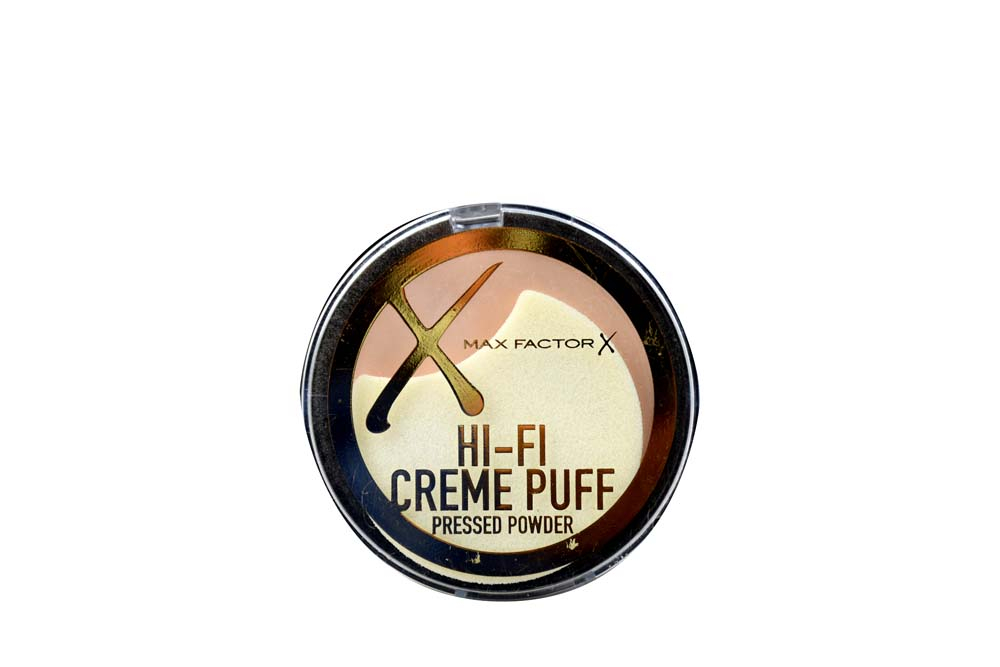 Polvo Compacto Creme Puff Deluxe Max Factor Estuche Con 1 Unidad - Tono Translucent