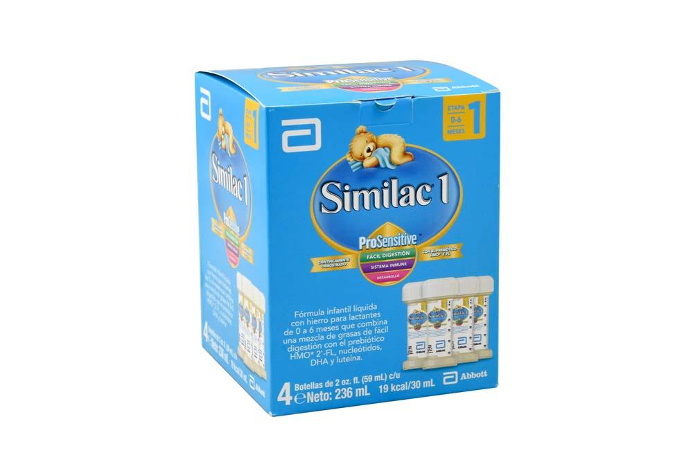 Similac Prosensitive 1 Caja Con 4 Unidades