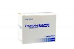 Tiamina 300 mg Caja Con 50 Cápsulas Rx