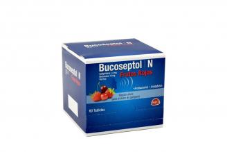 Bucoseptol N Frutos Rojos Caja Con 60 Tabletas