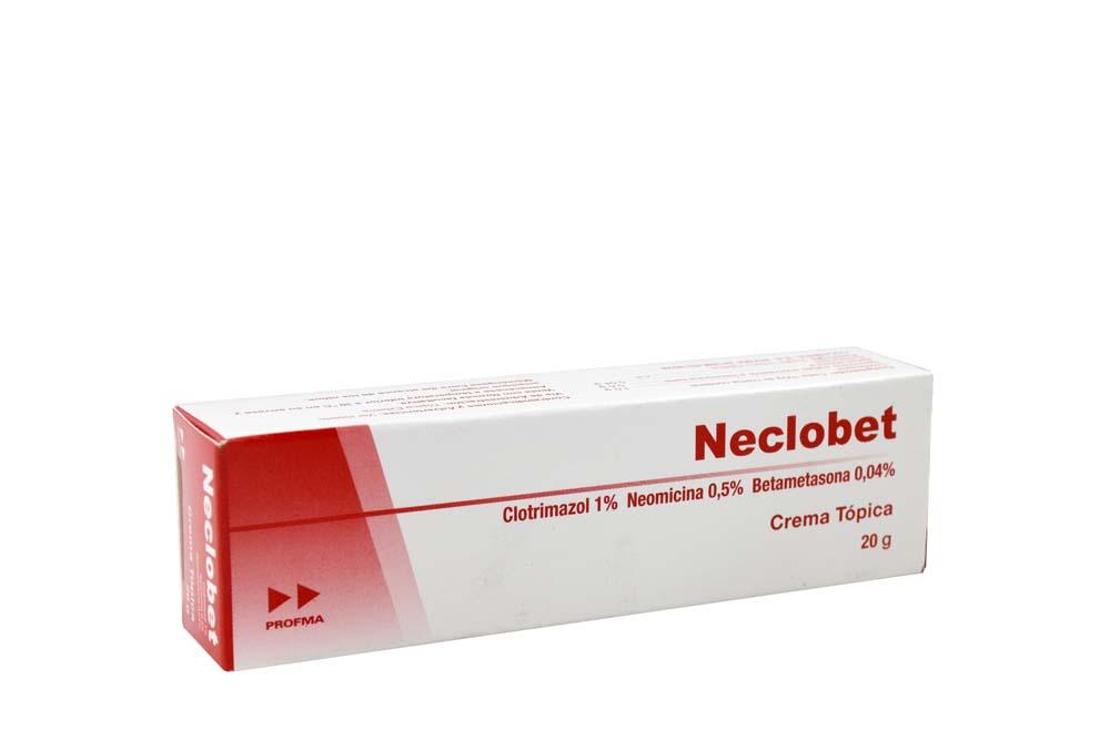 Neclobet 1 / 0.5 / 0.04 % Caja  Con Tubo Con 20 g Rx