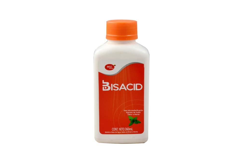 Bisacid Sabor Menta Frasco Con 360 mL