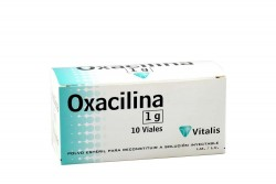 Oxacilina 1 g Caja Con 10 Ampollas Rx