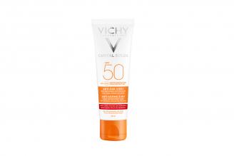 Bloqueador Solar Vichy Ideal Soleil Antiedad Spf 50+ En tubo Por 50 mL