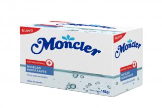 Moncler Jabón De Tocador Antibacterial Agua Micelar Barra Con 145 g