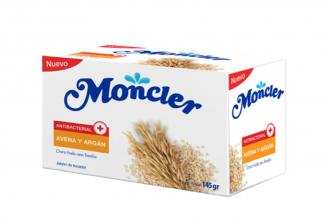Moncler Jabón De Tocador Antibacterial Avena & Argán Barra Con 145 g