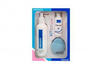 KIT para cuidar la piel con ACNE sin color