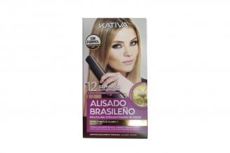 Kativa Alisado Brasileño Straightening Blonde 1 Kit 12 Semanas