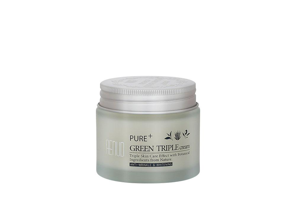 Green Triple Cream Renud Pure Frasco Con 70 mL