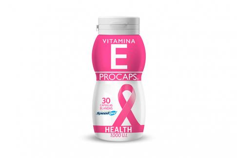 Vitamina E 1000 U.I Frasco Con 30 Cápsulas Blandas