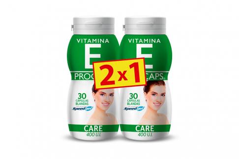 Vitamina E 400 U.I Frasco Con 50 Cápsulas - Pague 1 Lleve 2