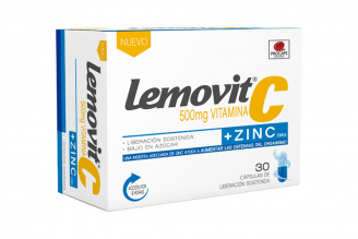 Lemovit C + Zinc Plus Caja Con 30 Cápsulas