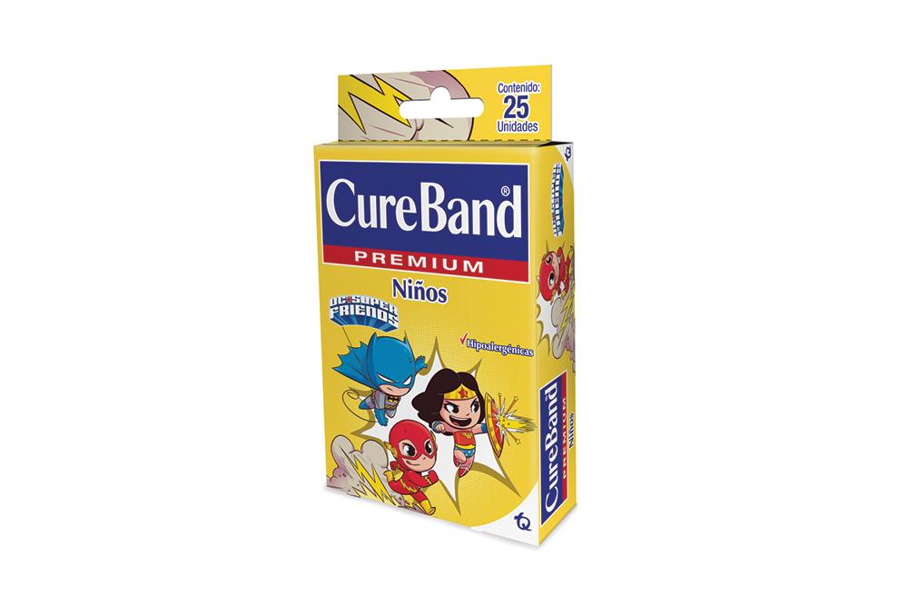 Curas Cureband Premium Caja Con 25 Unidades