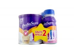 Promoción PediaSure Tarro Con 400 g Vainilla Gratis 1 RPB Fresa+ 1 RPB Chocolate