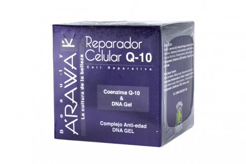 Arawak Gel Reparador Q-10 Caja Con Frasco Con 50 g