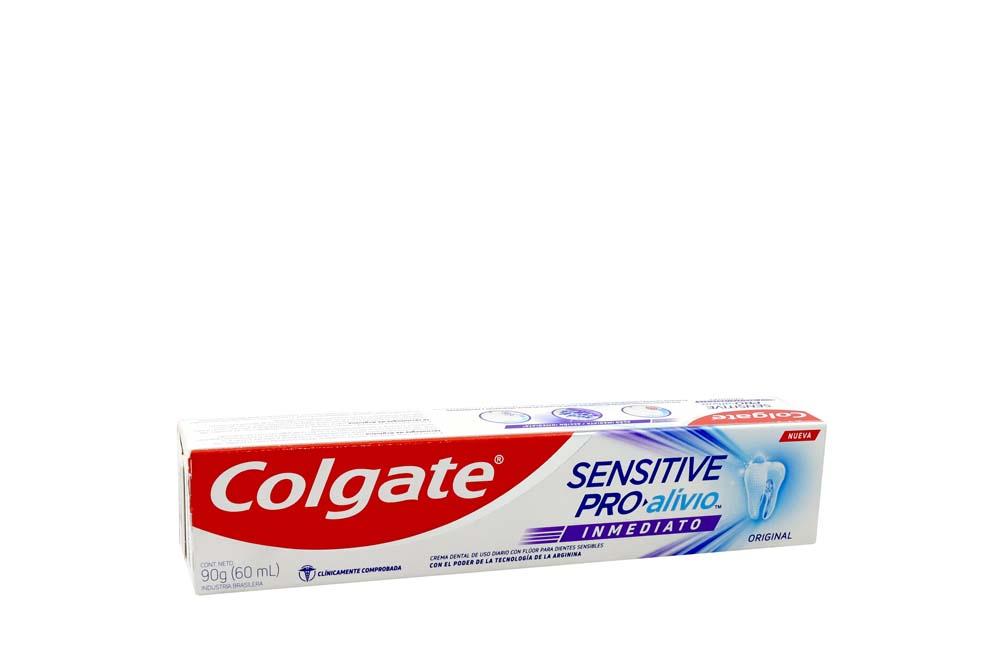 Crema Dental Colgate Sensitive Pro-Alivio Inmediato Caja Con Tubo Con 90 g