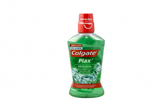 Enjuague Bucal Plax Ice Glacial Colgate Frasco Con 500 mL