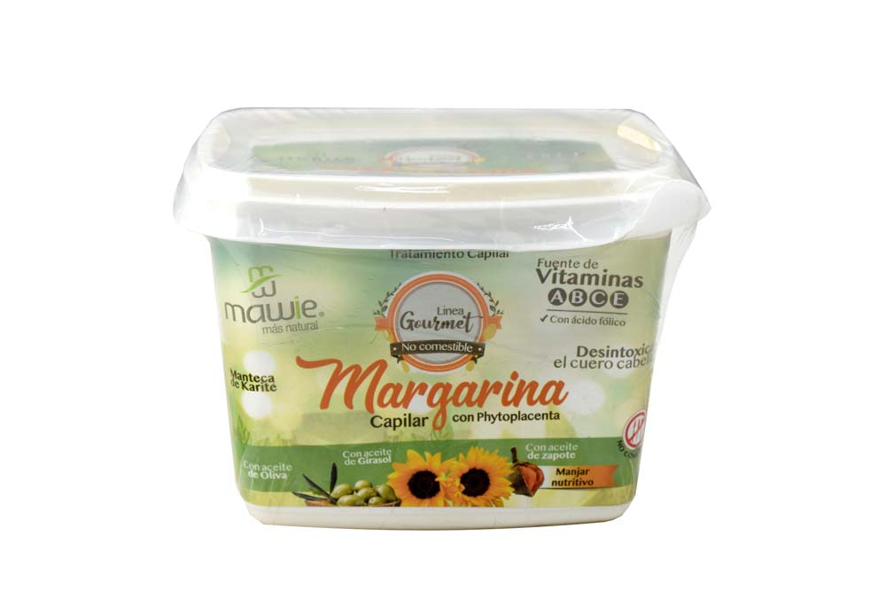 Tratamiento Capilar Mawie Margarina Frasco Con 500 mL