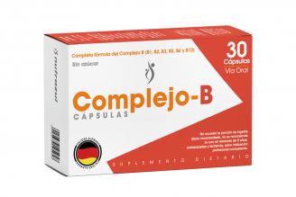 Complejo B NutrazulCaja Con 30 Capsulas