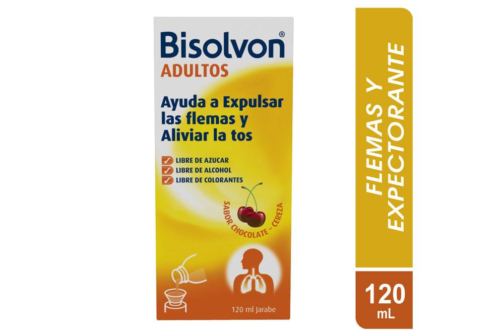 Bisolvon Adultos Jarabe Caja Con Frasco Con 120 mL