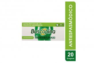 Buscapina 10 mg  Caja Con 20 Grageas