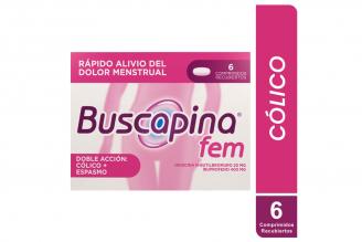 Buscapina Fem Caja Con 6 Comprimidos