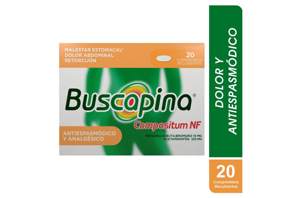 Buscapina Compositum NF Caja Con 20 Comprimidos Recubiertos