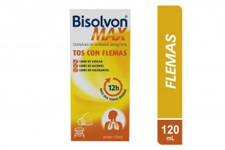 Bisolvon Max Jarabe Caja Con Frasco Con 120 mL