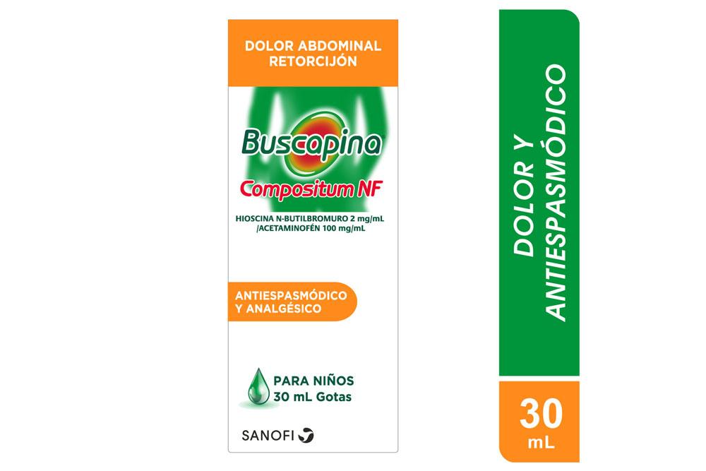 Buscapina Compositum NF Gotas 2 / 100 mg Caja Con Frasco Con 30 mL