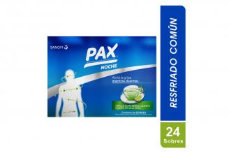 Pax Caliente Noche Sabor Limón Caja Con 24 Sobres