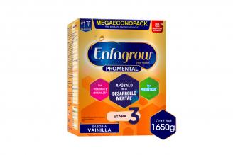 Enfagrow Premium Etapa 3 Sabor Vainilla Caja Con 3 Bolsas De 550 g C/U