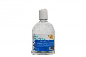 Clean Gel Antibacterial Frasco Con 500 mL