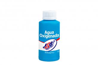 Agua Oxigenada JGB En Frasco Con 120 mL