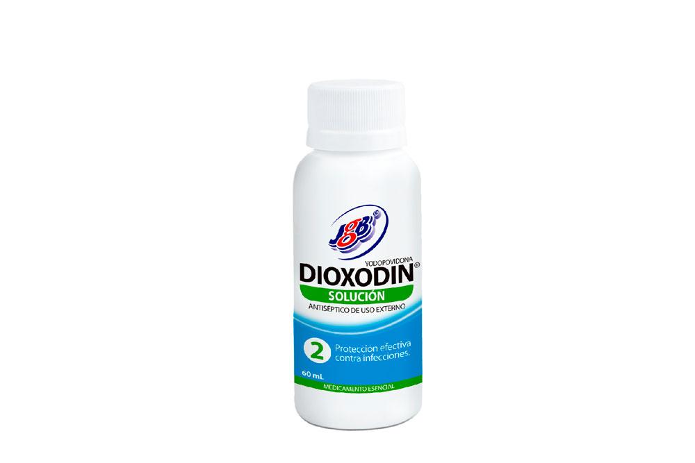 Yodopovidona Dioxodin Frasco Con 60 mL