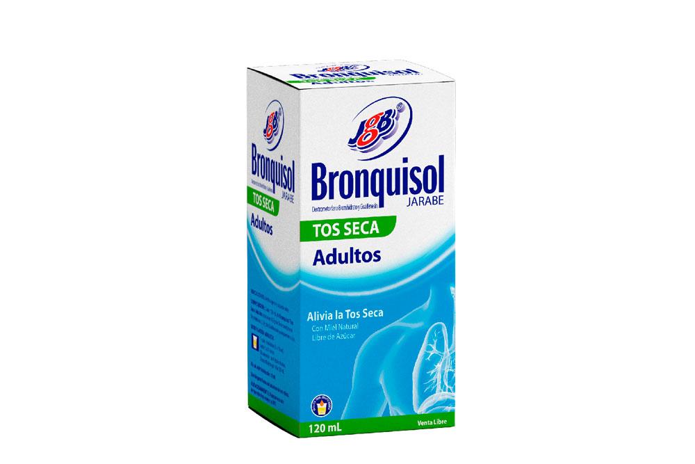 Bronquisol Tos Seca Adultos Caja Con Frasco Con 120 mL