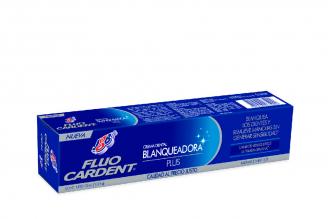 Crema Dental Fluocardent Blanqueadora Plus Caja Con Tubo Con 75 mL