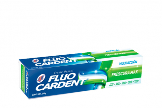 Crema Dental Fluocardent Multiacción Frescura Max  Caja Con Tubo Con 100 g - Antisarro