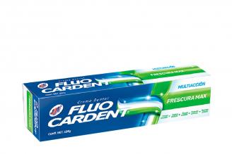 Crema Dental Fluocardent Multiacción Frescura Max Caja Con Tubo Con 134 g