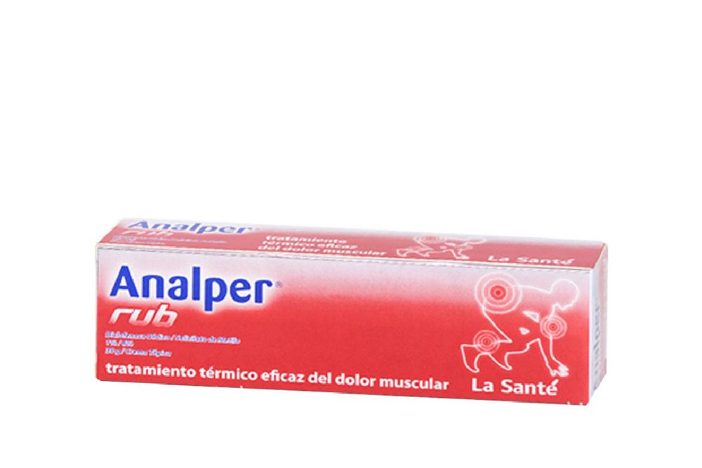 Analper Rub Crema Tópica Caja Con Tubo Con 30 g