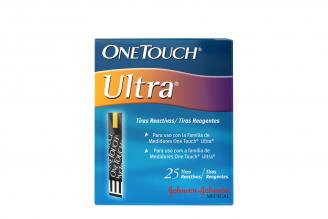 Tiras Reactivas One Touch Ultra Caja Con 25 Unidades