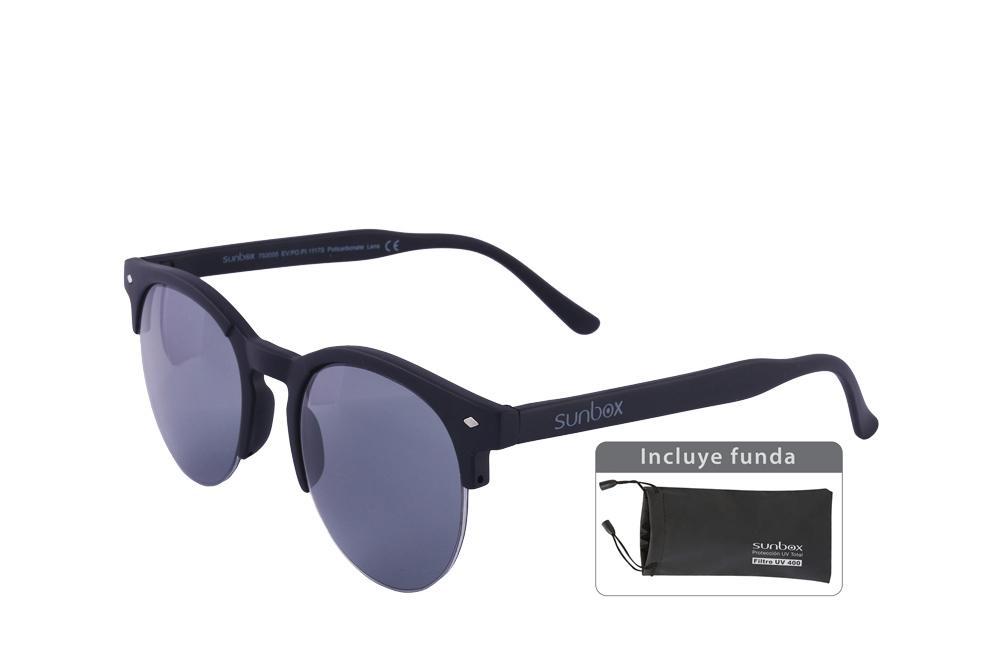Gafas De Sol Sunbox Maxim F1 Policarbonato Color Negro Empaque Con 1 Unidad