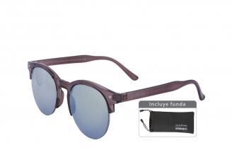 Gafas De Sol Sunbox Maxim F1 Policarbonato Color Gris Empaque Con 1 Unidad
